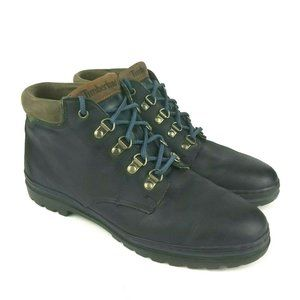 Timberland Ankle Boots Womens Blue Lace Up